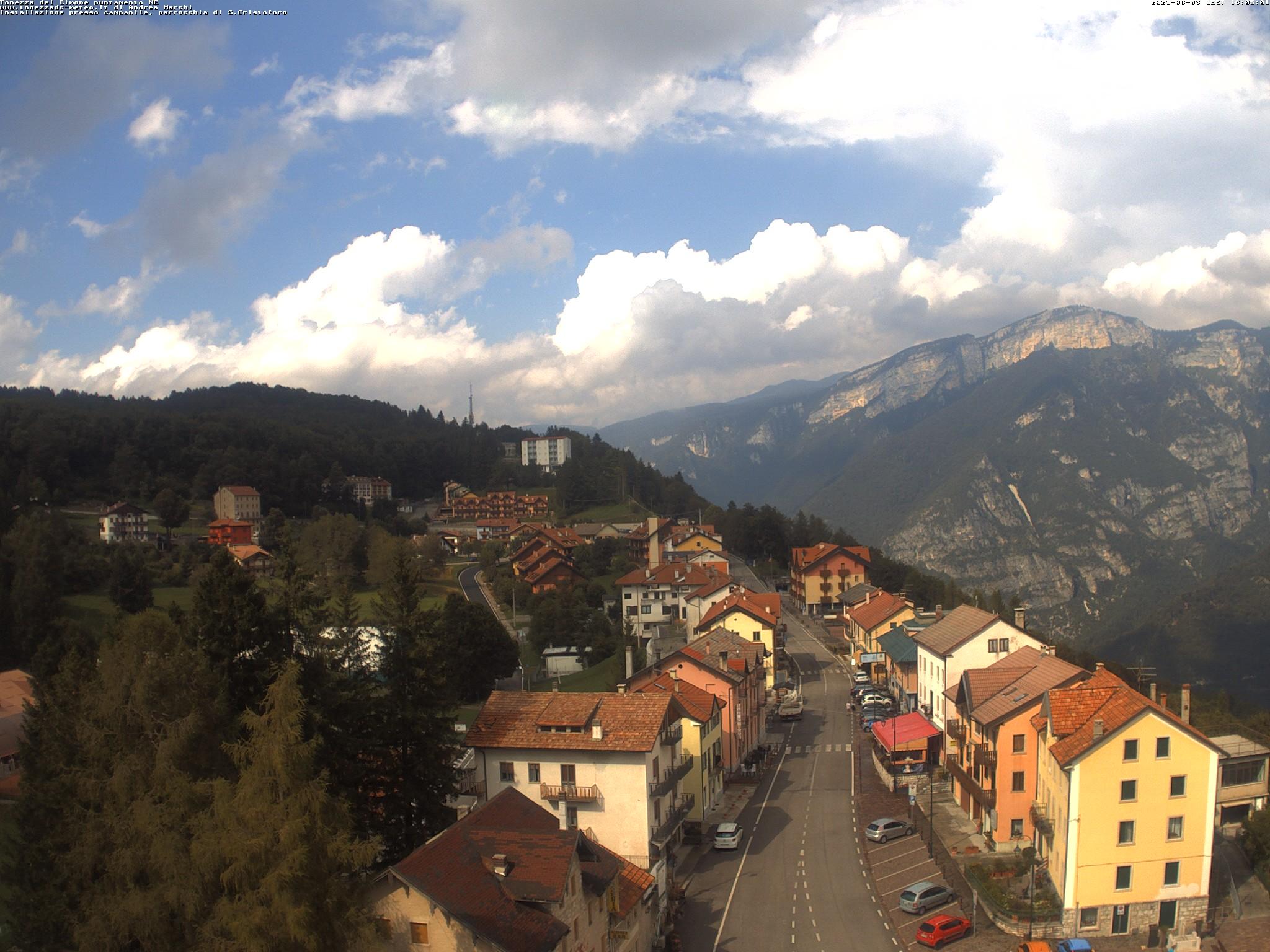 webcam campanile tonezza del cimone